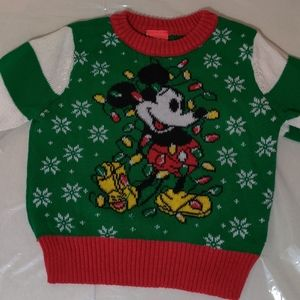 Disney Mickey Mouse Holiday Sweater